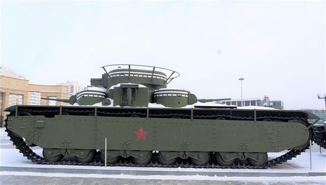 Thăm bảo tàng vũ khí độc đáo ở Yekaterinburg, Nga  - Ảnh 3.