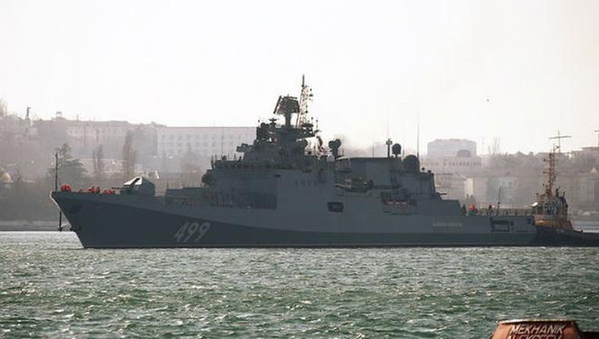 Chiến hạm Nga cho sát thần Kalibr ngắm thẳng đầu phiến quân thân Thổ Nhĩ Kỳ - Ảnh 12.