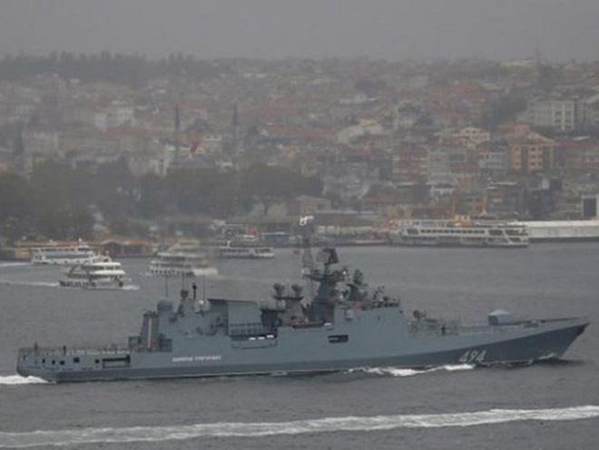 Chiến hạm Nga cho sát thần Kalibr ngắm thẳng đầu phiến quân thân Thổ Nhĩ Kỳ - Ảnh 3.