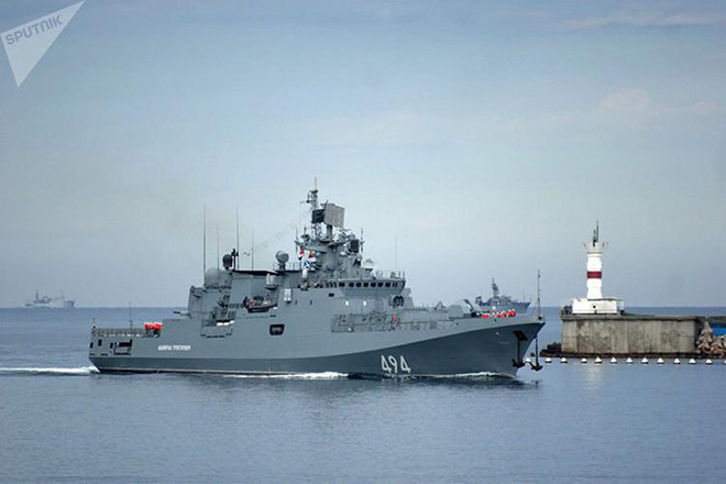 Chiến hạm Nga cho sát thần Kalibr ngắm thẳng đầu phiến quân thân Thổ Nhĩ Kỳ - Ảnh 7.