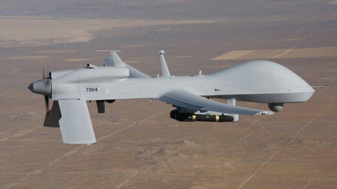 Đạn đã lên nòng: UAV Mỹ - Iran đối đầu nghẹt thở trên bầu trời Syria - Ảnh 1.