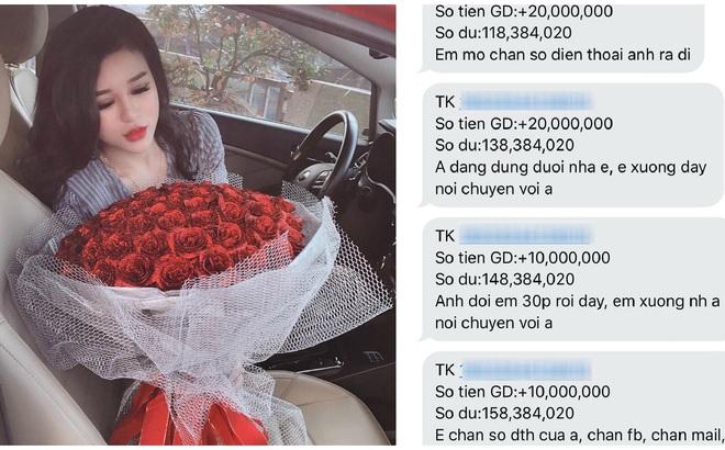 """Được bạn trai chuyển khoản cả trăm triệu để năn nỉ xin lỗi, cô gái đã có màn đáp trả """"cứng"""" không ngờ"""
