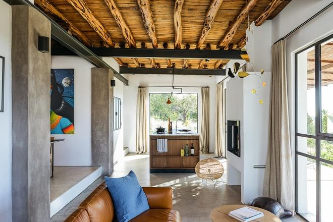 Căn nhà cấp 4 tạo ấn tượng đặc biệt nhờ kết hợp giữa kiến trúc hiện đại với thiên nhiên hoang sơ - Ảnh 14.