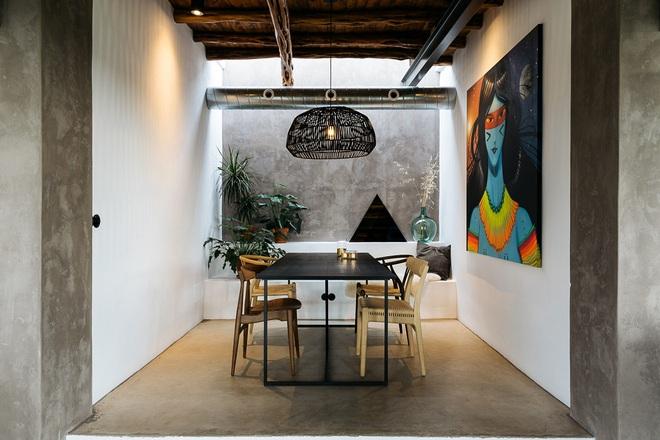 Căn nhà cấp 4 tạo ấn tượng đặc biệt nhờ kết hợp giữa kiến trúc hiện đại với thiên nhiên hoang sơ - Ảnh 16.