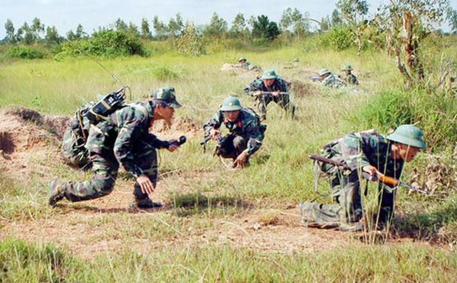 """Chiến trường K: Quân tình nguyện Việt Nam giáp mặt """"thần chết"""" tại phum Am Pin"""