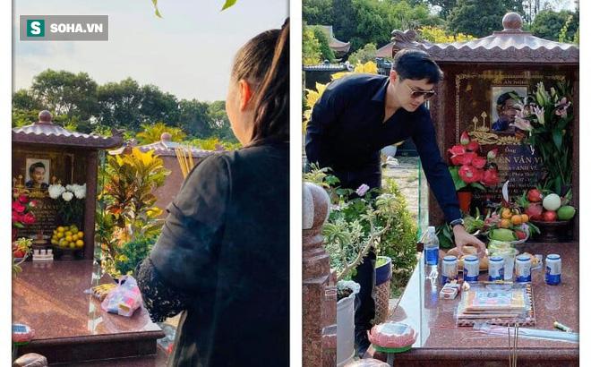 """1 năm ngày mất nghệ sĩ Anh Vũ: Đồng nghiệp """"chia ca"""" lên mộ, Hồng Vân đau nhói vì không thể cúng cơm"""