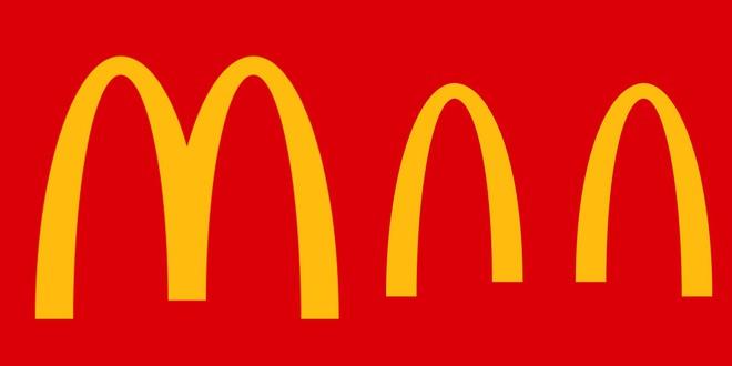 """Logo các thương hiệu nổi tiếng đồng loạt """"xa nhau 2 mét"""" thời Covid-19 - Ảnh 6."""