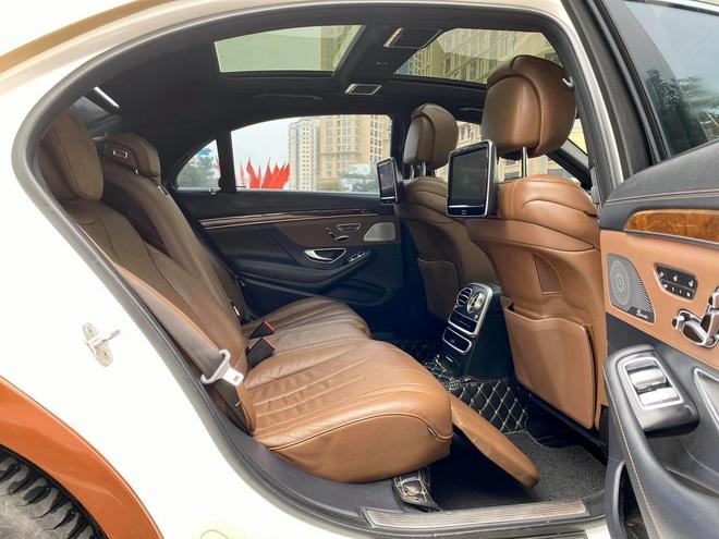 Xuất hiện chiếc Mercedes S400 đời 2016, phối màu lạ với giá rẻ hơn bình thường - Ảnh 9.