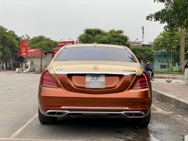 Xuất hiện chiếc Mercedes S400 đời 2016, phối màu lạ với giá rẻ hơn bình thường - Ảnh 6.