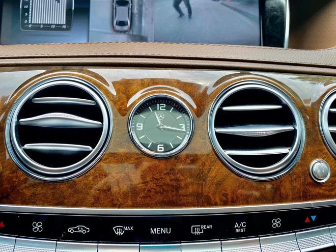 Xuất hiện chiếc Mercedes S400 đời 2016, phối màu lạ với giá rẻ hơn bình thường - Ảnh 8.