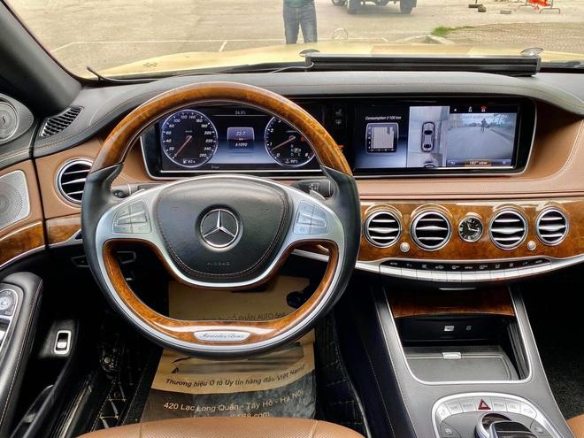 Xuất hiện chiếc Mercedes S400 đời 2016, phối màu lạ với giá rẻ hơn bình thường - Ảnh 7.
