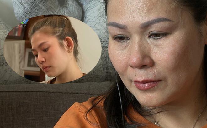 Chúng Huyền Thanh bật khóc khi thấy mẹ chồng và em gái hòa giải