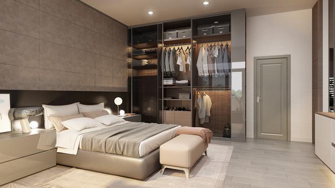 Tư vấn thiết kế thêm 1 phòng ngủ trong căn hộ 54m² với mức chi phí là 15 triệu theo yêu cầu của gia chủ - Ảnh 7.
