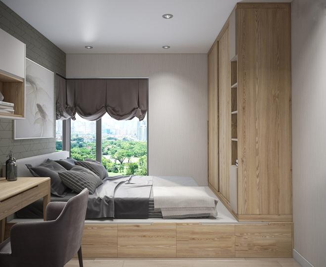 Tư vấn thiết kế thêm 1 phòng ngủ trong căn hộ 54m² với mức chi phí là 15 triệu theo yêu cầu của gia chủ - Ảnh 9.
