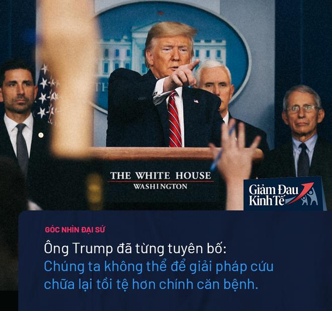 Nước Mỹ sinh ra không phải để đóng cửa: TT Trump đứng trước quyết định lớn nhất trong nhiệm kỳ - Ảnh 4.