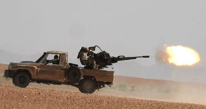 Syria nóng lên từng giờ, chiến trường miền Đông bùng nổ - Nhiều chiến đấu cơ Israel xuất kích, nín thở chờ khai hỏa - Ảnh 1.
