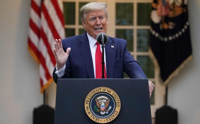 """Ông Trump tiết lộ """"ngày đáng sợ nhất cuộc đời"""" khi biết 1 điều về tình hình đại dịch ở Mỹ"""