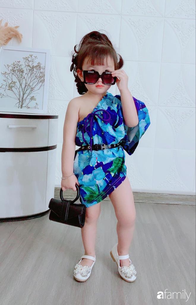 Ở nhà quá chán, hot mom Hà Nội nảy ra ý định lấy quần đùi của chồng cosplay cho con gái 2 tuổi, không ngờ ra lò bộ ảnh đẹp như tạp chí - Ảnh 1.