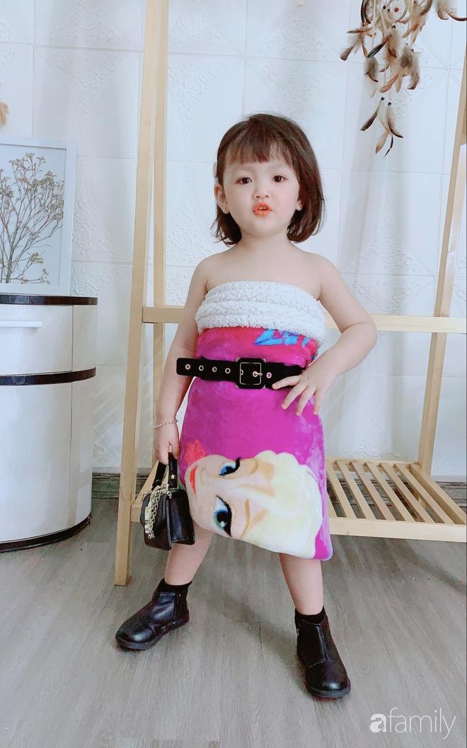 Ở nhà quá chán, hot mom Hà Nội nảy ra ý định lấy quần đùi của chồng cosplay cho con gái 2 tuổi, không ngờ ra lò bộ ảnh đẹp như tạp chí - Ảnh 11.