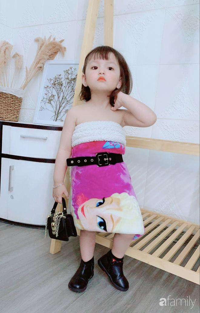 Ở nhà quá chán, hot mom Hà Nội nảy ra ý định lấy quần đùi của chồng cosplay cho con gái 2 tuổi, không ngờ ra lò bộ ảnh đẹp như tạp chí - Ảnh 12.