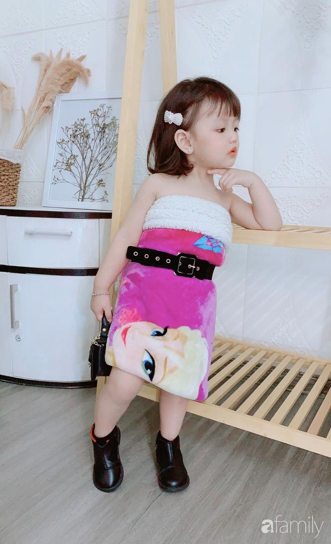 Ở nhà quá chán, hot mom Hà Nội nảy ra ý định lấy quần đùi của chồng cosplay cho con gái 2 tuổi, không ngờ ra lò bộ ảnh đẹp như tạp chí - Ảnh 13.
