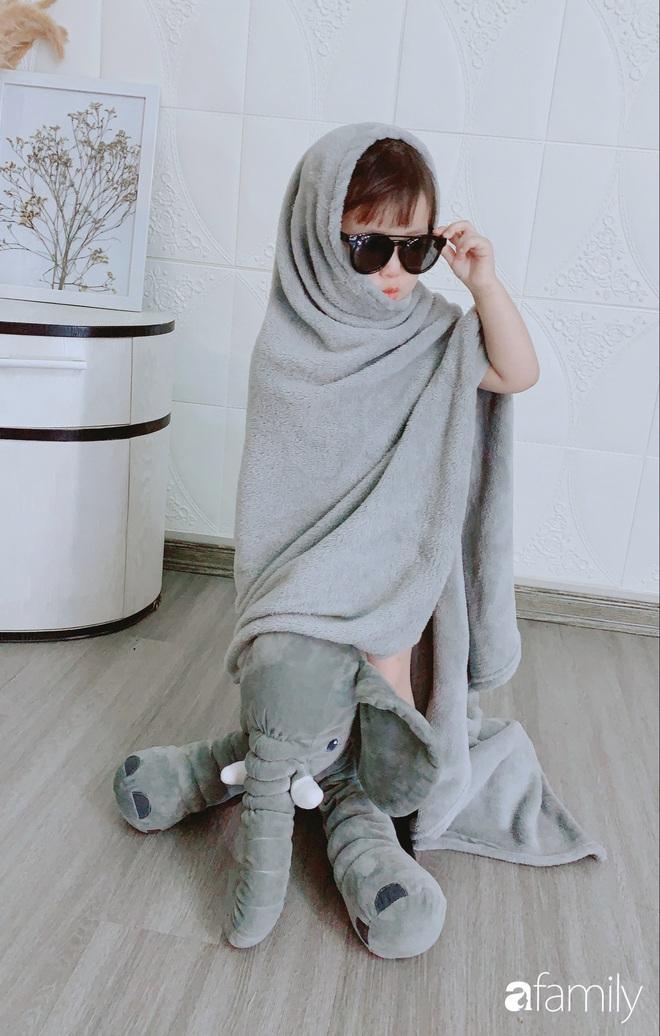 Ở nhà quá chán, hot mom Hà Nội nảy ra ý định lấy quần đùi của chồng cosplay cho con gái 2 tuổi, không ngờ ra lò bộ ảnh đẹp như tạp chí - Ảnh 14.