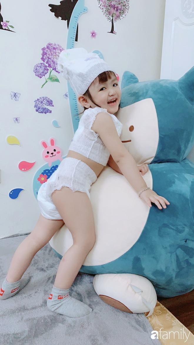 Ở nhà quá chán, hot mom Hà Nội nảy ra ý định lấy quần đùi của chồng cosplay cho con gái 2 tuổi, không ngờ ra lò bộ ảnh đẹp như tạp chí - Ảnh 19.