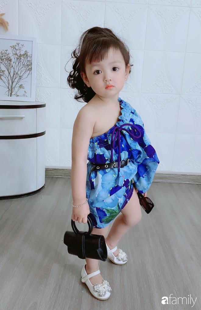 Ở nhà quá chán, hot mom Hà Nội nảy ra ý định lấy quần đùi của chồng cosplay cho con gái 2 tuổi, không ngờ ra lò bộ ảnh đẹp như tạp chí - Ảnh 3.