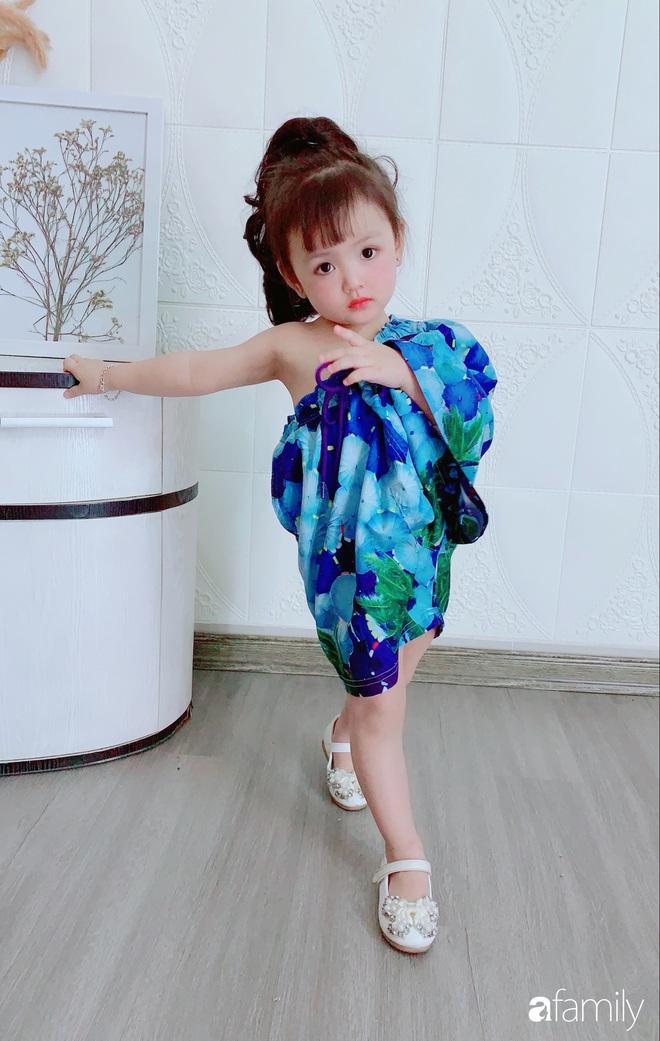 Ở nhà quá chán, hot mom Hà Nội nảy ra ý định lấy quần đùi của chồng cosplay cho con gái 2 tuổi, không ngờ ra lò bộ ảnh đẹp như tạp chí - Ảnh 4.