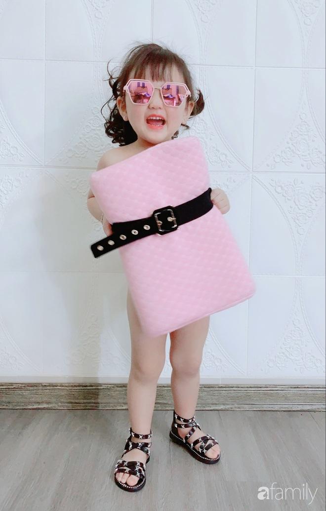 Ở nhà quá chán, hot mom Hà Nội nảy ra ý định lấy quần đùi của chồng cosplay cho con gái 2 tuổi, không ngờ ra lò bộ ảnh đẹp như tạp chí - Ảnh 6.