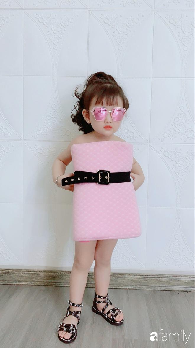 Ở nhà quá chán, hot mom Hà Nội nảy ra ý định lấy quần đùi của chồng cosplay cho con gái 2 tuổi, không ngờ ra lò bộ ảnh đẹp như tạp chí - Ảnh 7.