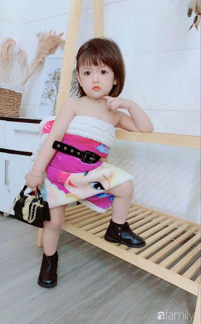 Ở nhà quá chán, hot mom Hà Nội nảy ra ý định lấy quần đùi của chồng cosplay cho con gái 2 tuổi, không ngờ ra lò bộ ảnh đẹp như tạp chí - Ảnh 10.