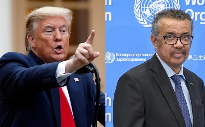 Vụ TT Trump tuyên bố tạm ngưng tài trợ cho WHO giữa đại dịch COVID-19: