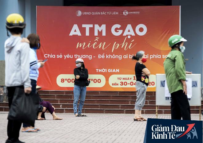 """Cây ATM gạo miễn phí ở Hà Nội: """"Mỗi ngày bớt đi mấy chục nghìn tiền gạo cũng đỡ 1 khoản lo"""" - Ảnh 5."""