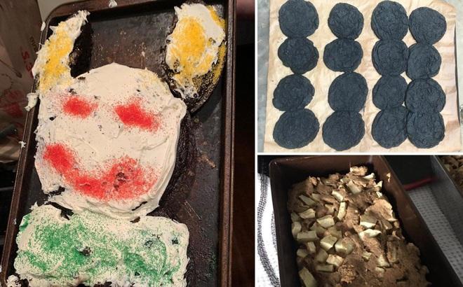 Hội chị em vụng về được an ủi với vô số những chiếc bánh thảm họa mùa Covid-19