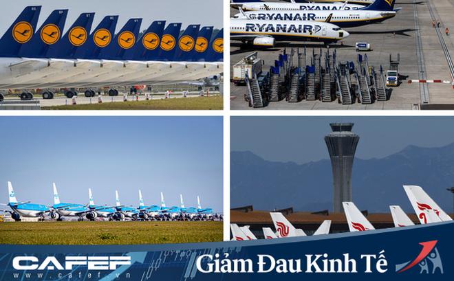 """Khó khăn với ngành hàng không chỉ dừng ở nhu cầu khách hàng: Hơn 16.000 máy bay """"đắp chiếu"""" cần được bảo trì, lau dọn thuờng xuyên, phải chi hàng chục triệu USD phí đỗ"""