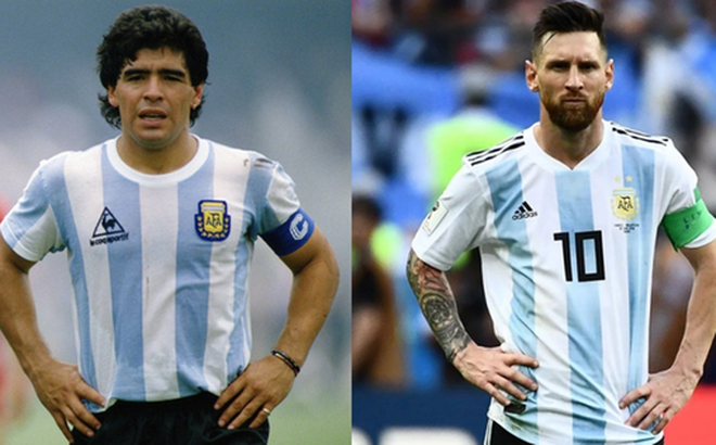 Khác biệt nào giữa Messi và Maradona, Ronaldo?