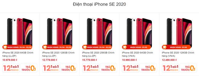 iPhone SE 2020 được đặt trước tại Việt Nam với giá chỉ hơn 10 triệu đồng - Ảnh 2.