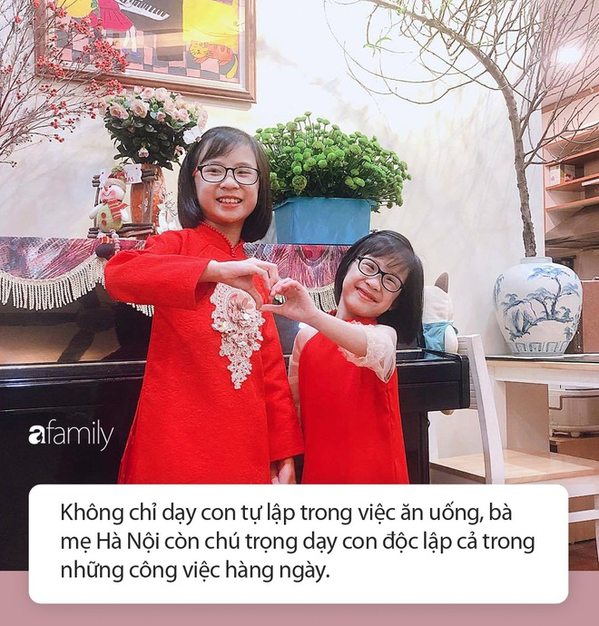 Bé gái ở Hà Nội cấp 1 đã biết đi chợ nấu cơm cùng mẹ, nấu được cả những món đến người lớn cũng lắc đầu lè lưỡi chịu thua - Ảnh 7.