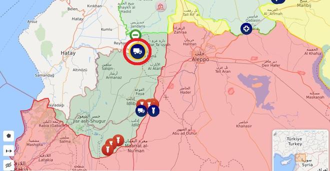 HQ Nga đóng sập Đông Địa Trung Hải để nã tên lửa, chiến đấu cơ rầm rập áp sát Thổ  - Quả bom Idlib xì khói, ông Erdogan cầu cứu TT Putin qua điện thoại - Ảnh 1.