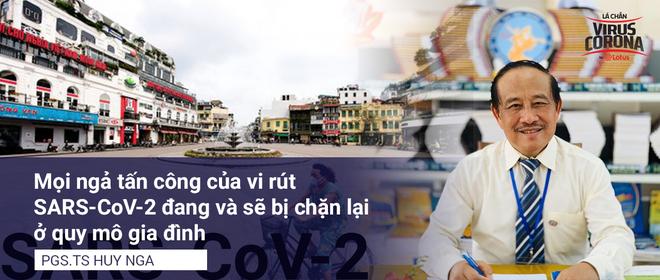 PGS.TS Nguyễn Huy Nga: Mọi ngả tấn công của Covid-19 sẽ bị chặn lại ở quy mô gia đình - Ảnh 2.