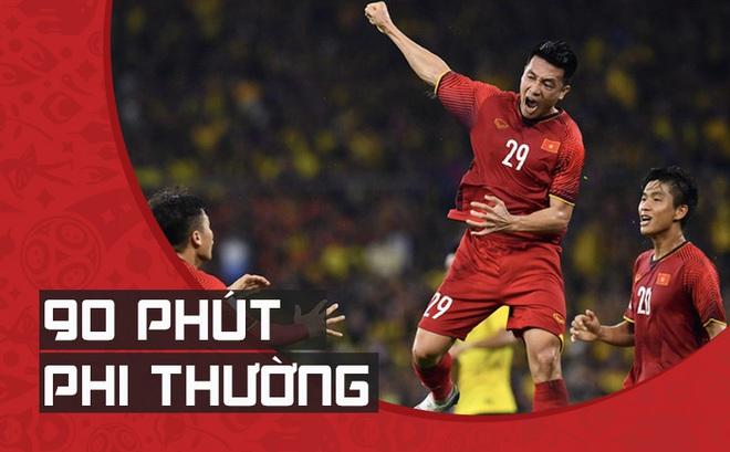 """Cú """"lật bài"""" kinh điển đưa Việt Nam lên ngôi vô địch của HLV Park Hang-seo"""