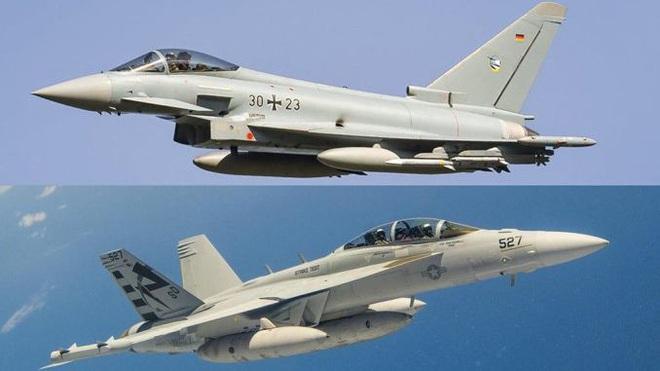 Cặp đôi F/A-18EF và EA-18G Mỹ tung cú knock-out hạ gục đối thủ ngay sân khách: CNQP EU choáng váng? - Ảnh 2.