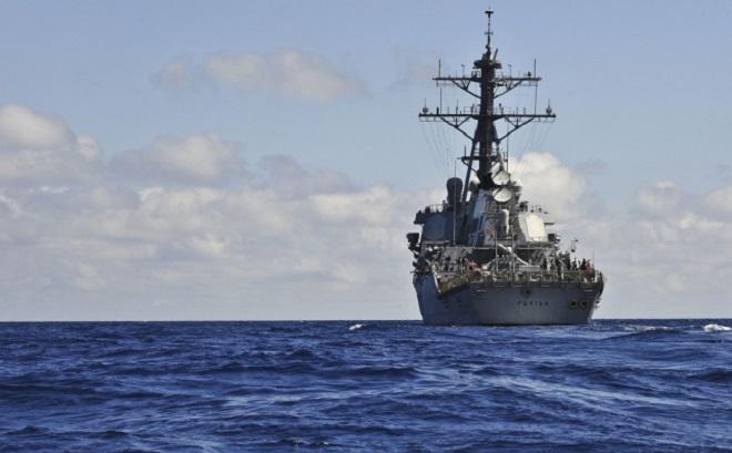 Tàu khu trục tên lửa Mỹ không được phép tiếp cận các cảng châu Âu tại Biển Đen