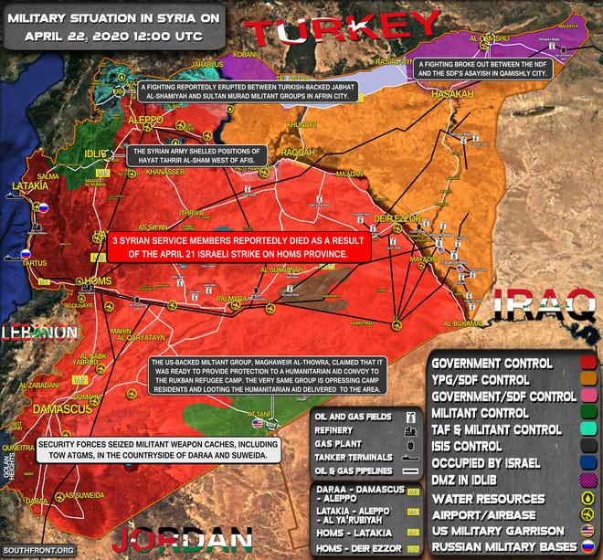 TT Trump ra lệnh cho Hải quân Mỹ nổ súng, vịnh Ba Tư trở thành chảo lửa - Quân cảnh Nga vượt qua khói lửa tiến vào Tây Bắc Syria - Ảnh 1.