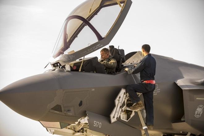 Mỹ tung F-35 vây chặt căn cứ quân sự ở Syria từng bị Nga tấn công: Quyết chơi sát ván! - Ảnh 2.