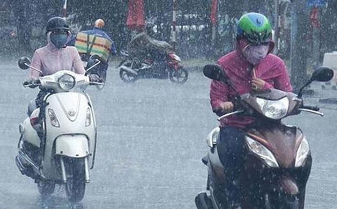 Thời tiết ngày 22/4: Bắc Bộ trở lạnh, mưa dông trên diện rộng