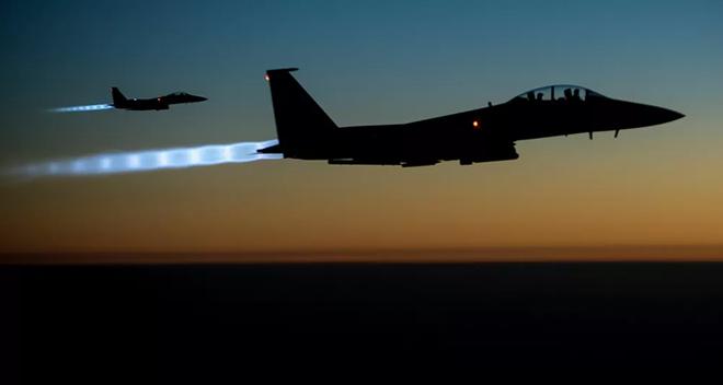 Đại bàng F-15 có khả năng 'bay ngang qua cả thế giới' - Ảnh 1.