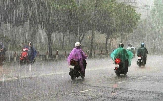 Dự báo thời tiết hôm nay: Bắc Bộ tiếp tục mưa dông trên diện rộng