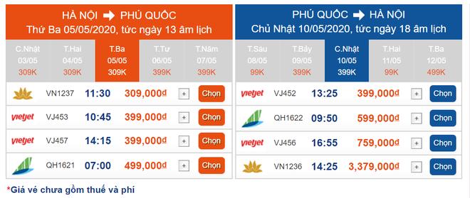 Hết cách ly xã hội, giá vé máy bay nội địa lập tức giảm còn 99.000 đồng - Ảnh 3.